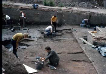 Stafford Clarke Street excavations 1975