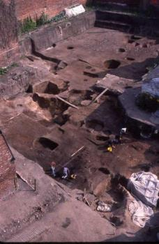 Stafford St Mary's Grove excavations 1980